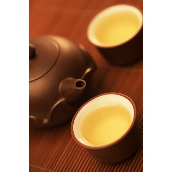 Green tea can be a good source of many different nutrients.