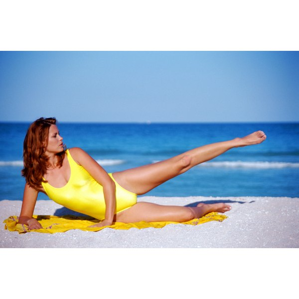 Pilates exercises can help tone your pelvic floor muscles and reposition your uterus.