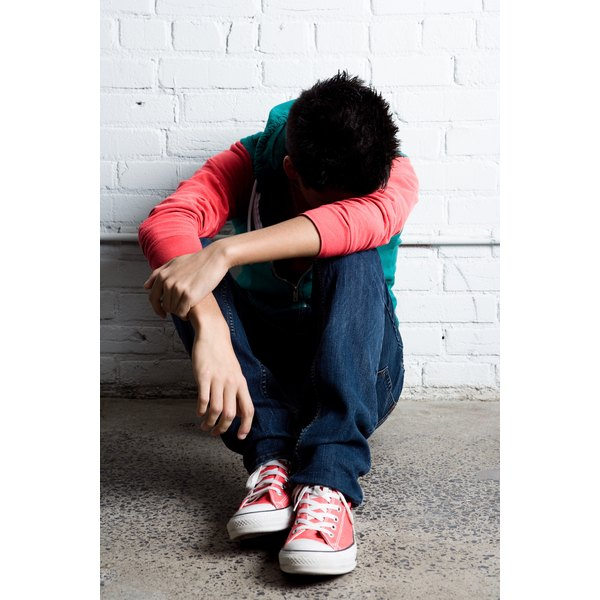 Teens are more likely to resort to self-destructive behaviors when under stress.