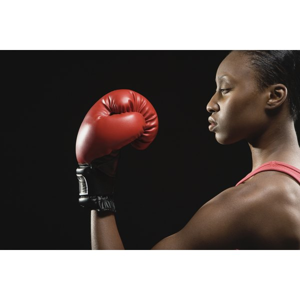 The goal of a professional boxing match is to disable the opponent.