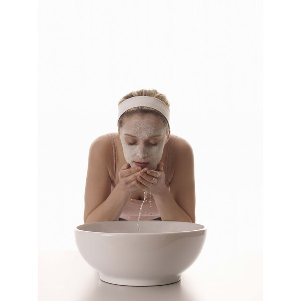 Rinse a potato mask off completely to prevent breakouts.