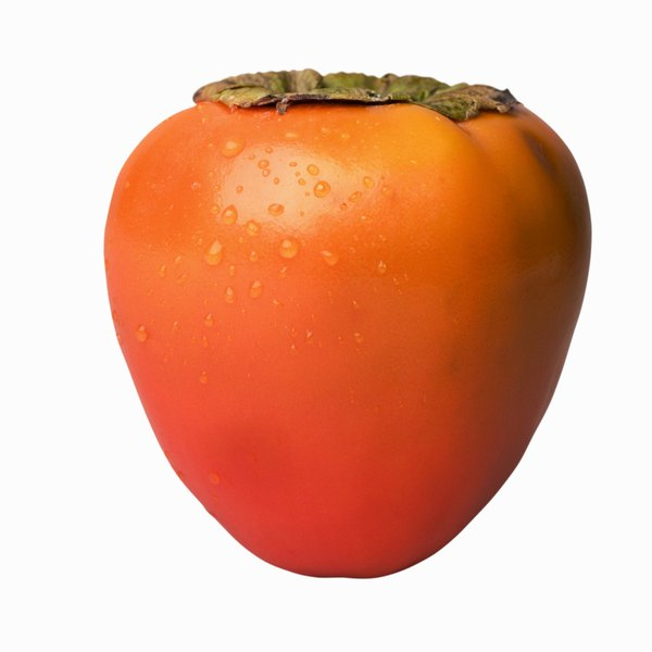 Persimmons should not be eaten until they are fully ripened.