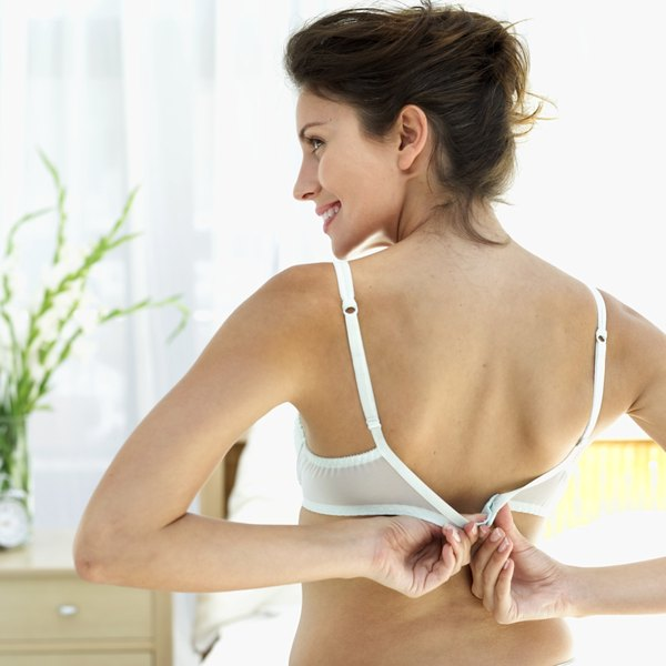 Bleach white bras with oxygen bleach instead of chlorine.