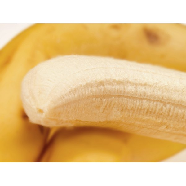A banana contains tyrosine, vitamin B6 and tryptophan.
