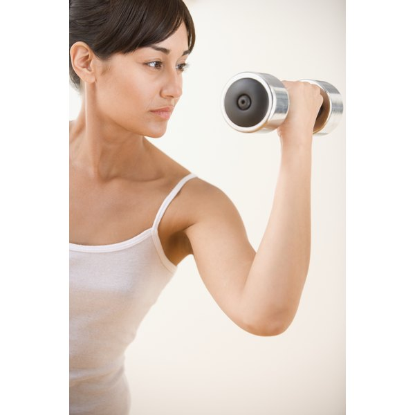 Supplements can help support toned muscles.