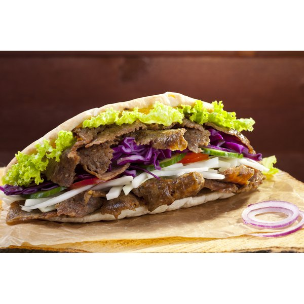 Gyros are one of the authentic Greek items on the menu at Jimmy the Greek.