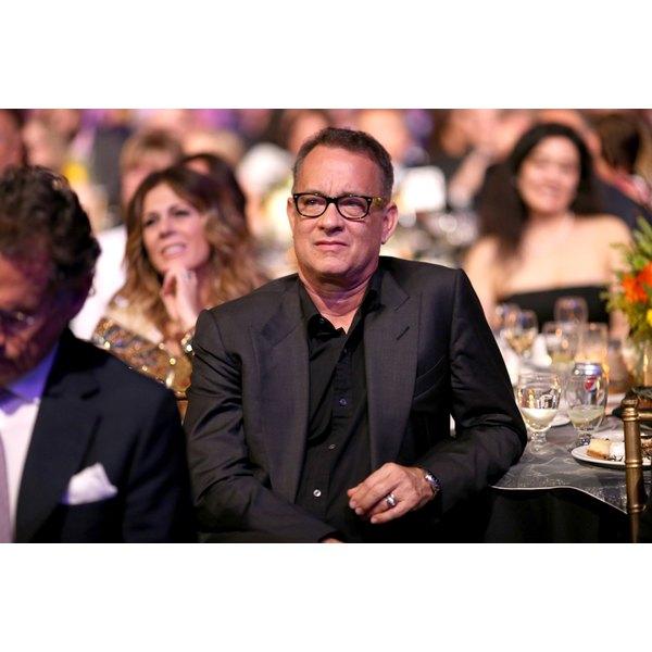 Actor Tom Hanks played Forrest Gump.