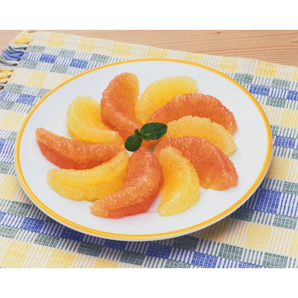 A moderate amount of grapefruit can provide your baby with vitamin C.