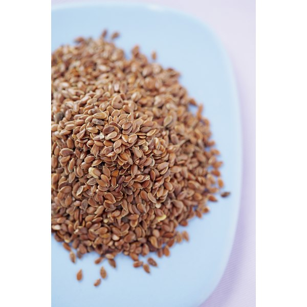 Flaxseed oil has a high concentration of omega-3 and omega-6 fatty acids.