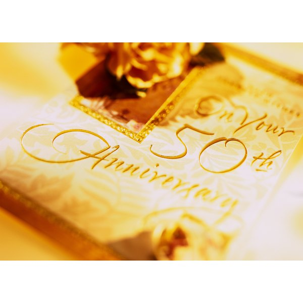 Religious Ideas For 50th Wedding Anniversary Our