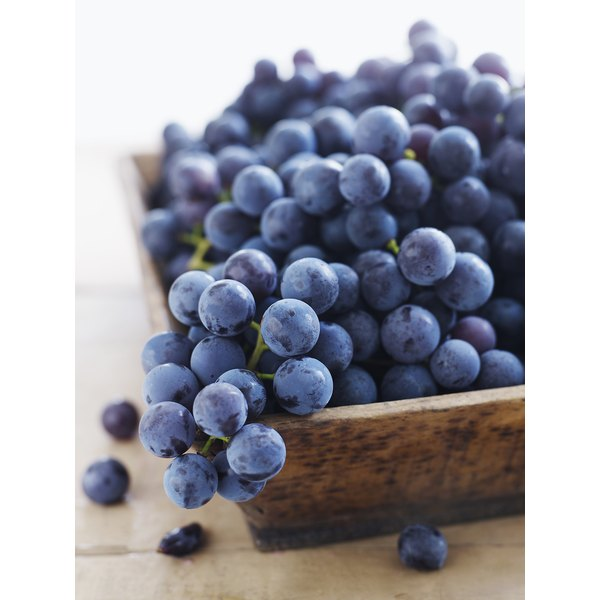 Grapes are high in vitamins that could help reverse seratonin levels that cause migraines.