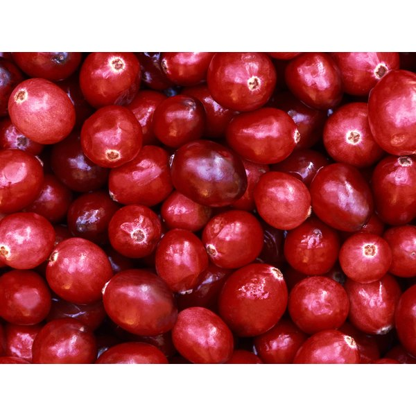 Cranberry juice contains beneficial phytochemicals.