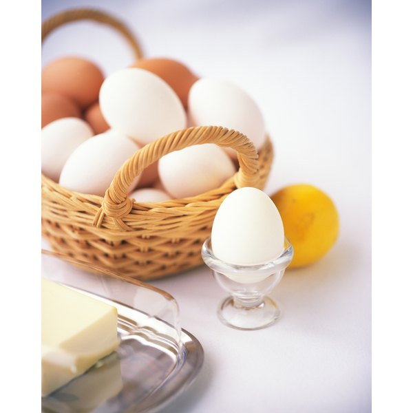 Eggs are naturally high in cysteine, the precursor for taurine.