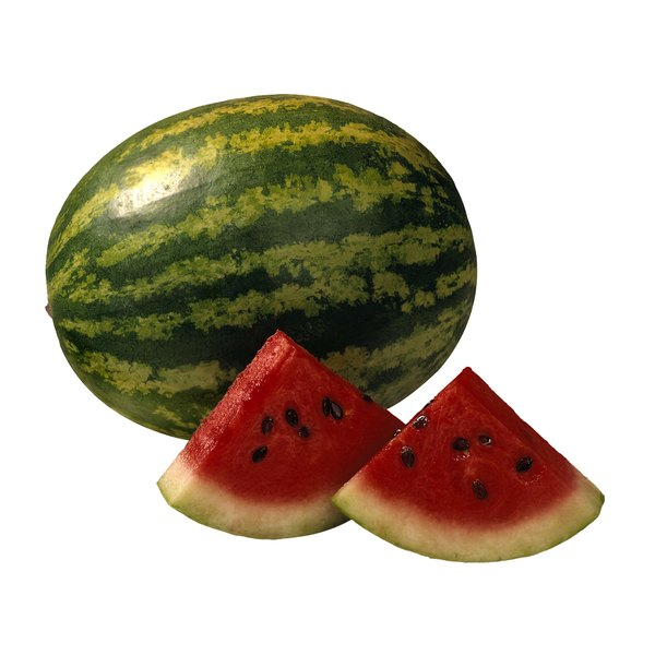 Cut your watermelon into party-friendly slices or cubes.