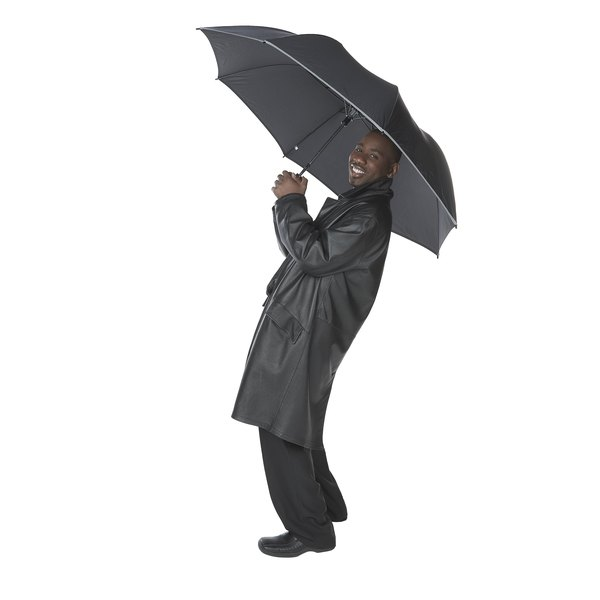 Correctly folding your raincoat enables easy access and storage for rainy days.