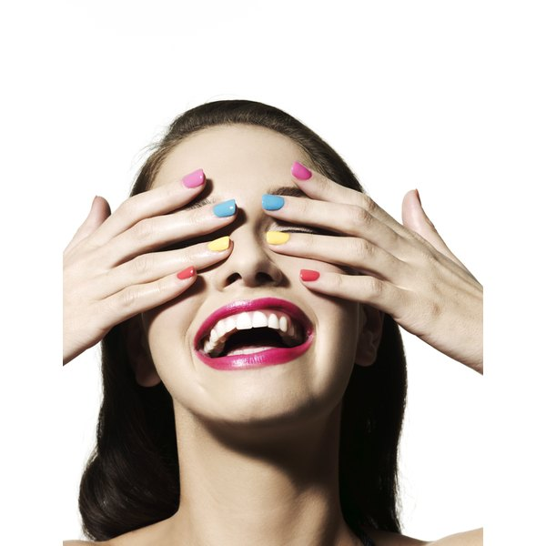 Avoid nail breakage by keeping nails of equal length, in a square, oval or round shape.