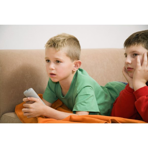 Research shows that watching too much violence on TV can make kids act aggressively.