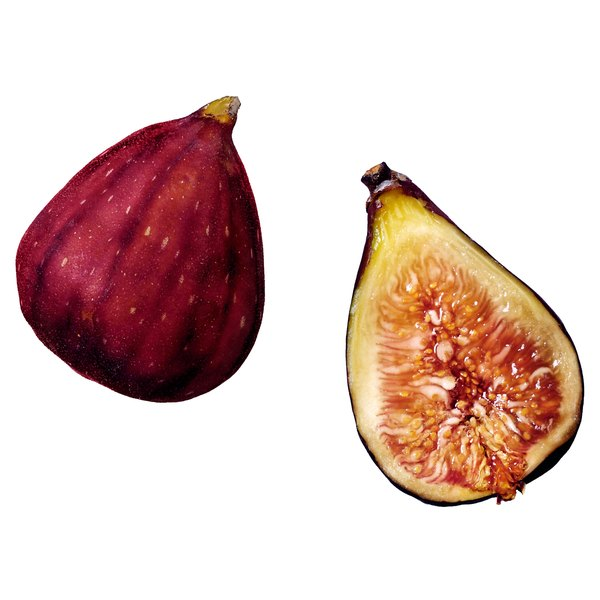 Figs are filled with crunchy seeds.
