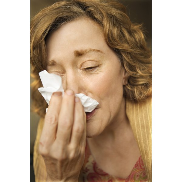Sinus congestion usually begins as nasal congestion, when membranes swell and mucus can't drain.