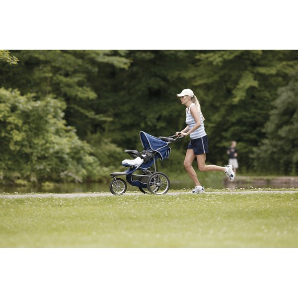 Opt for a jogging stroller for a safer ride.