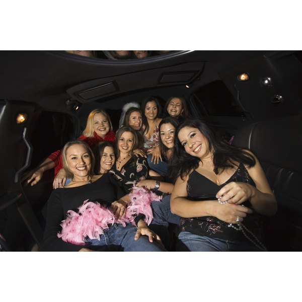 Plan activities for the party bus to help pass the time while traveling.