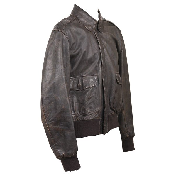 A leather jacket is an iconic piece of outerwear.