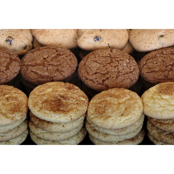 All cookies can be made with brown or white sugar.