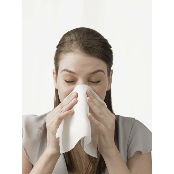 Using tissues repeatedly can cause your nose to become red, swollen and chapped.