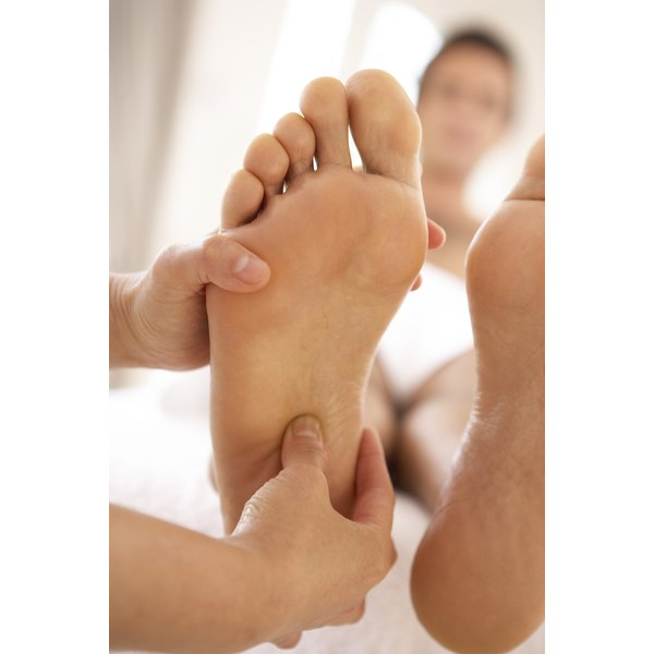 Prevent dry skin on your feet.