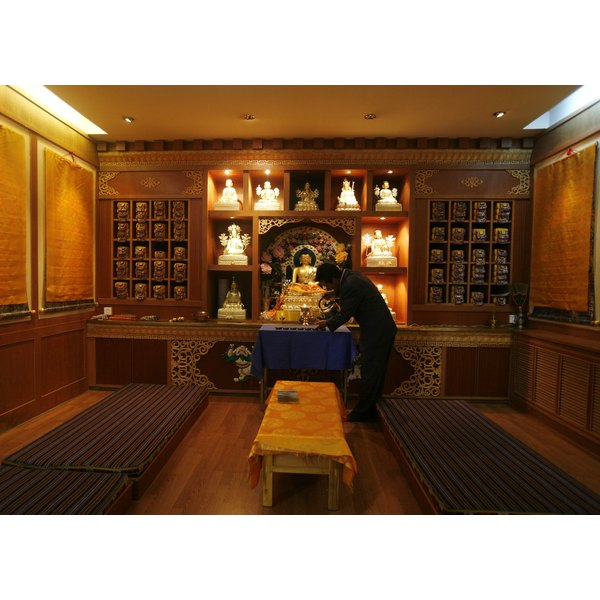 How to set up a small buddhist altar synonym for Small room synonym