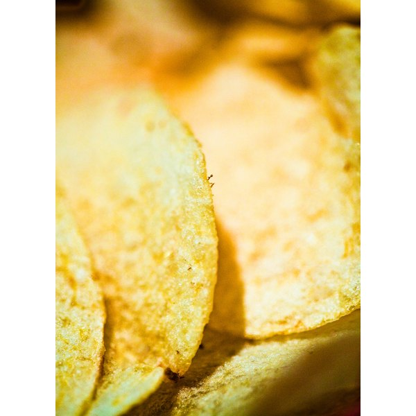 Baked chips are somewhat lower in fat than the typical fried variety, but they are often still high in added sodium.