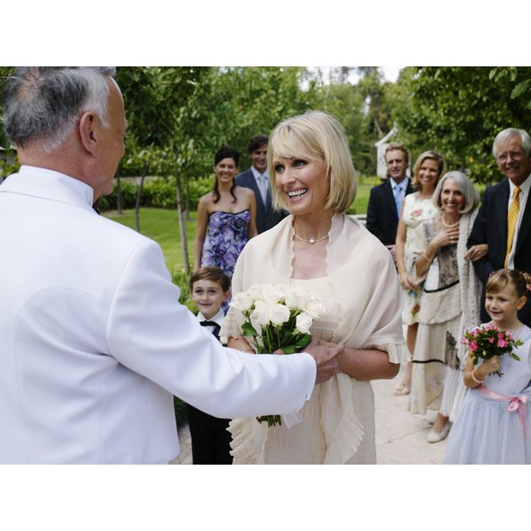 wedding ideas for older couples wedding etiquette for a widow s second marriage our 27846