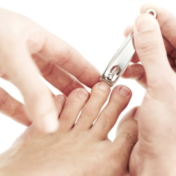 Wash your hands before and after clipping your toenails to prevent the spreading of germs.