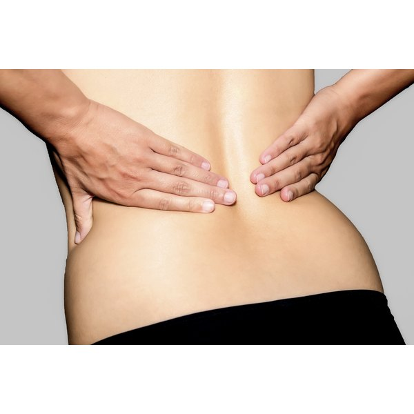 Muscle spasms are a common component of low back pain.