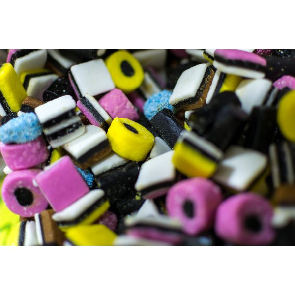 Licorice can cause common allergy symptoms in some people.