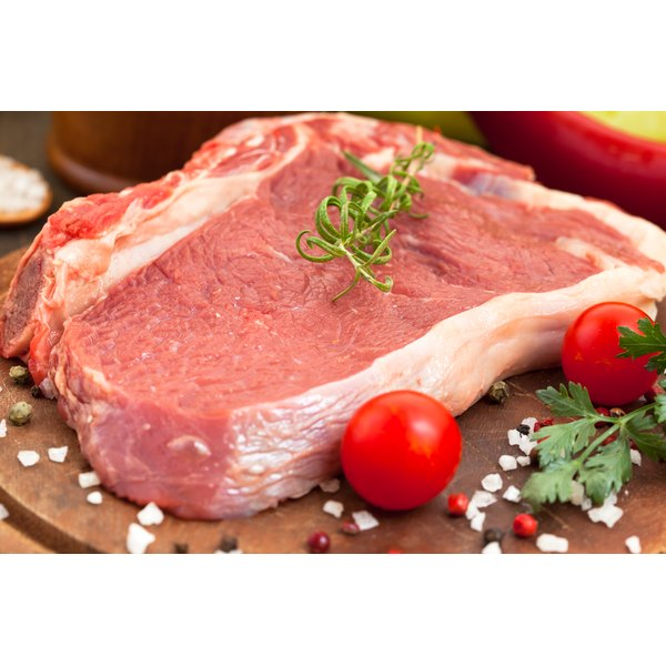 Many beef products come from cows treated with growth hormones.