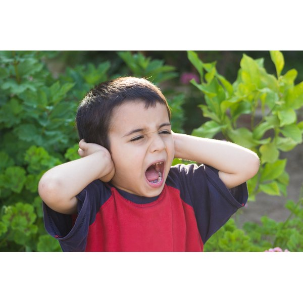 Kids develop a fear of noise for several reasons.