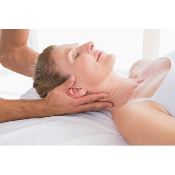 Massage may help to relieve muscle spasms.