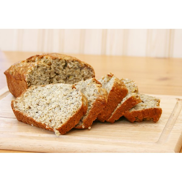 There are many alternatives to oil for quick bread recipes.