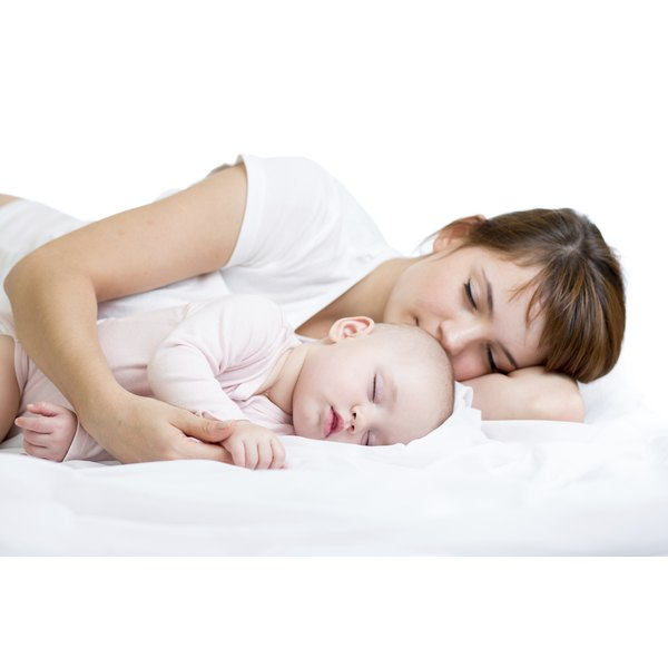 Some babies sleep well at night but aren't able to sleep during the day.