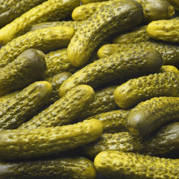 Avoid sweet pickles, which are high in sugars, and choose dill or sour pickles instead.