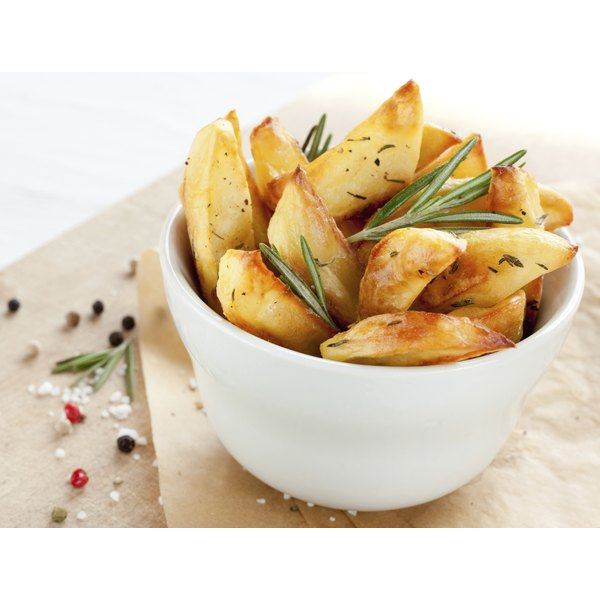 A bowl of salty french fries.