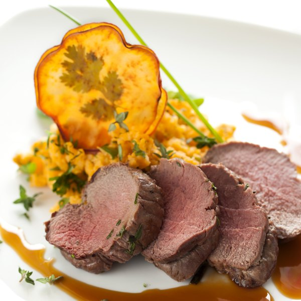 Venison is gamey in flavor but a healthy protein choice.