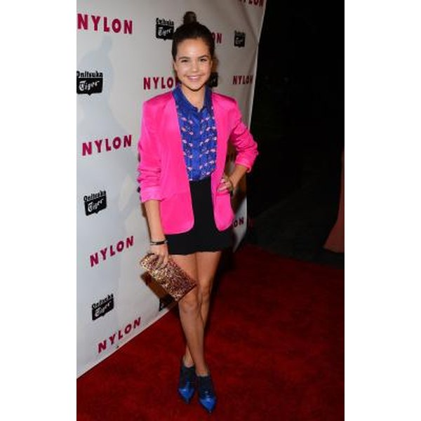 What Dress Or Skirt Color Goes With A Hot Pink Blazer