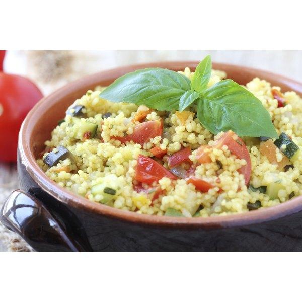 A couscous salad.