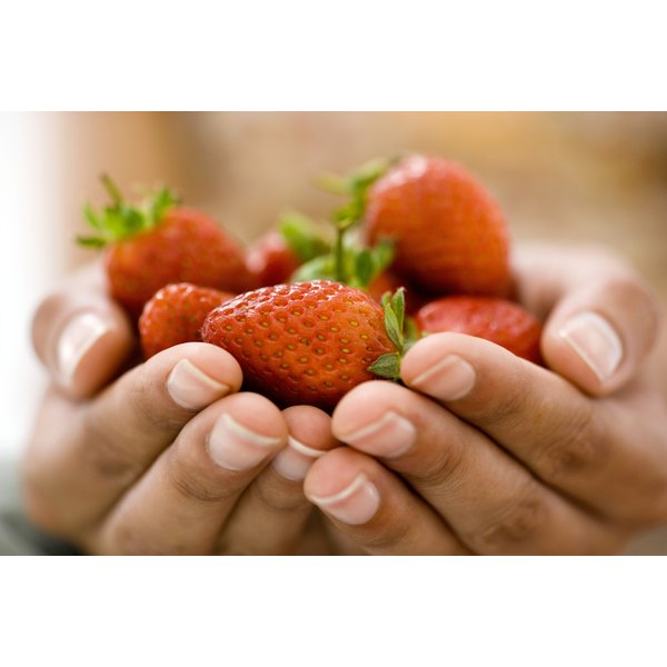 Strawberries yield a juice that fights cancer and keeps your tissues strong.