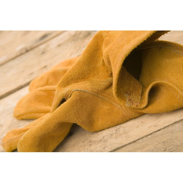 Clean your sticky suede gloves at home using expert repair tips.