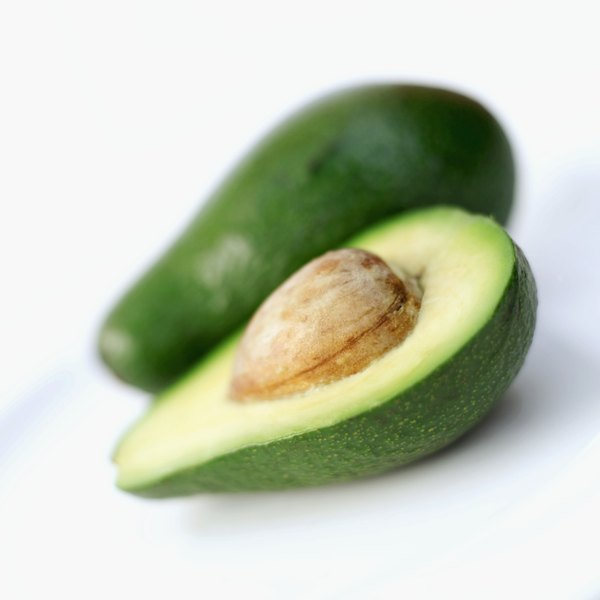 A sliced avocado.