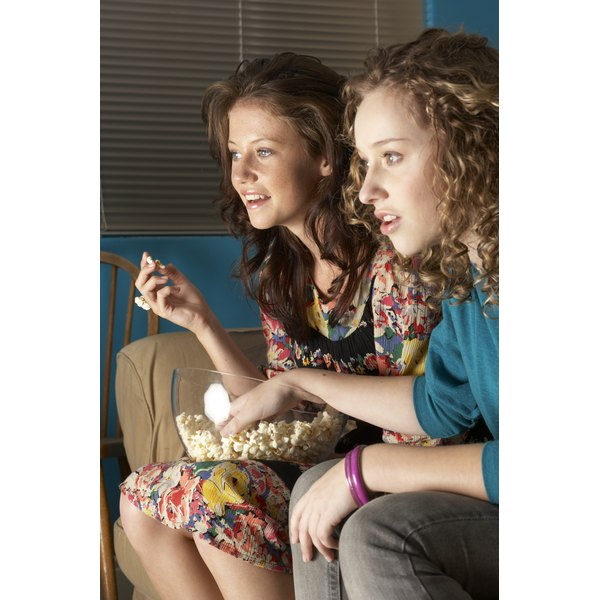 Teen girls might not separate reality television's entertainment value from their own values.