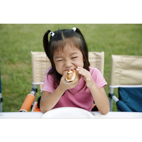 Food is the most common cause of nonfatal choking in kids.